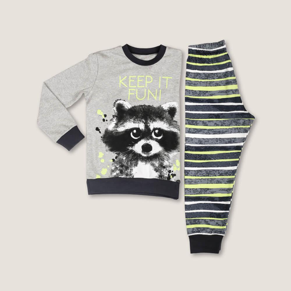 Детская мужская пижама E20K-13P101