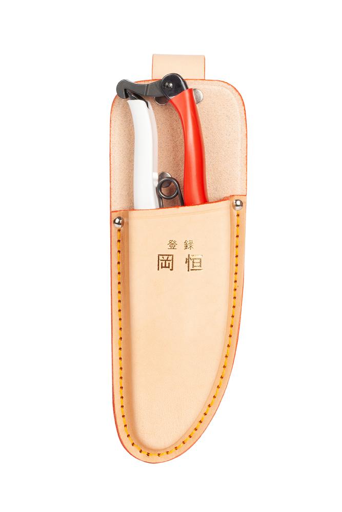Кожаный чехол Okatsune для секаторов 103 & 104