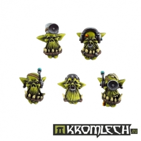 Orc Doctor Heads (10)