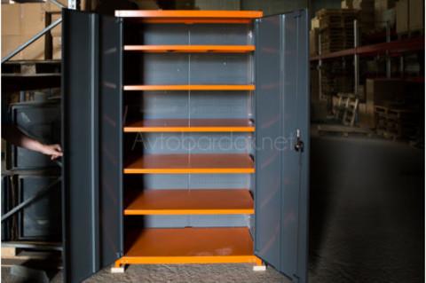 Усиленный инструментальный шкаф с 5 полками, ТВК1
