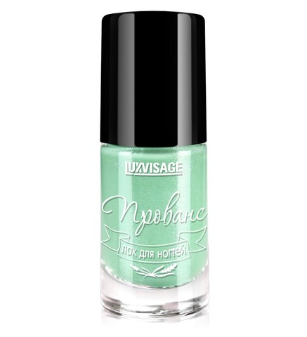 LuxVisage Прованс Лак для ногтей тон 156 (мятный сорбет) 9г