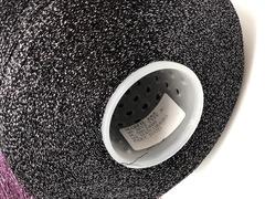 Вискоза  с люрексом Marfil MVS TYPE 2400  черный  c серебром