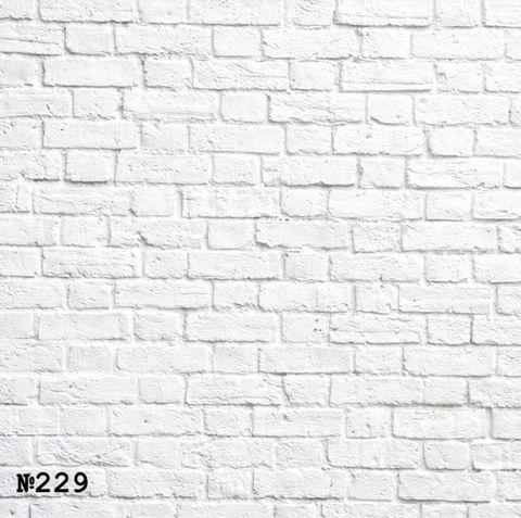 Фотофон виниловый «Белая кирпичная стена» №229