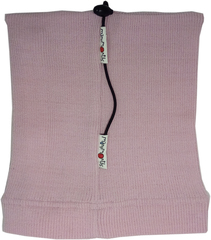 Шапочка ManyMonths, от 5 лет и более (от 110 см), Нежно-розовый (шерсть мериноса 100%)