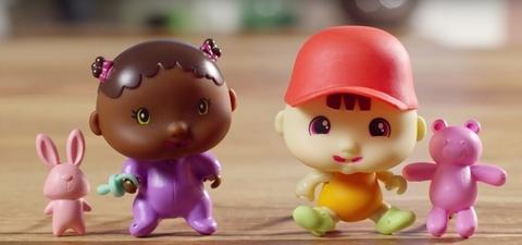 Крошки-Горошки пупсик сюрприз 1 Toy в стручке