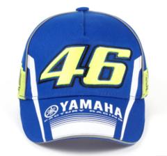 Кепка синяя Ямаха 46 (Бейсболка Yamaha VR46)
