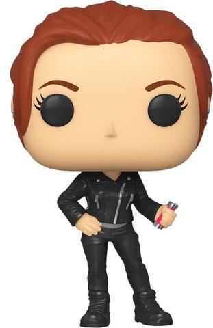 Фигурка Funko POP! Bobble: Marvel: Black Widow: Black Widow (Street) 46679
