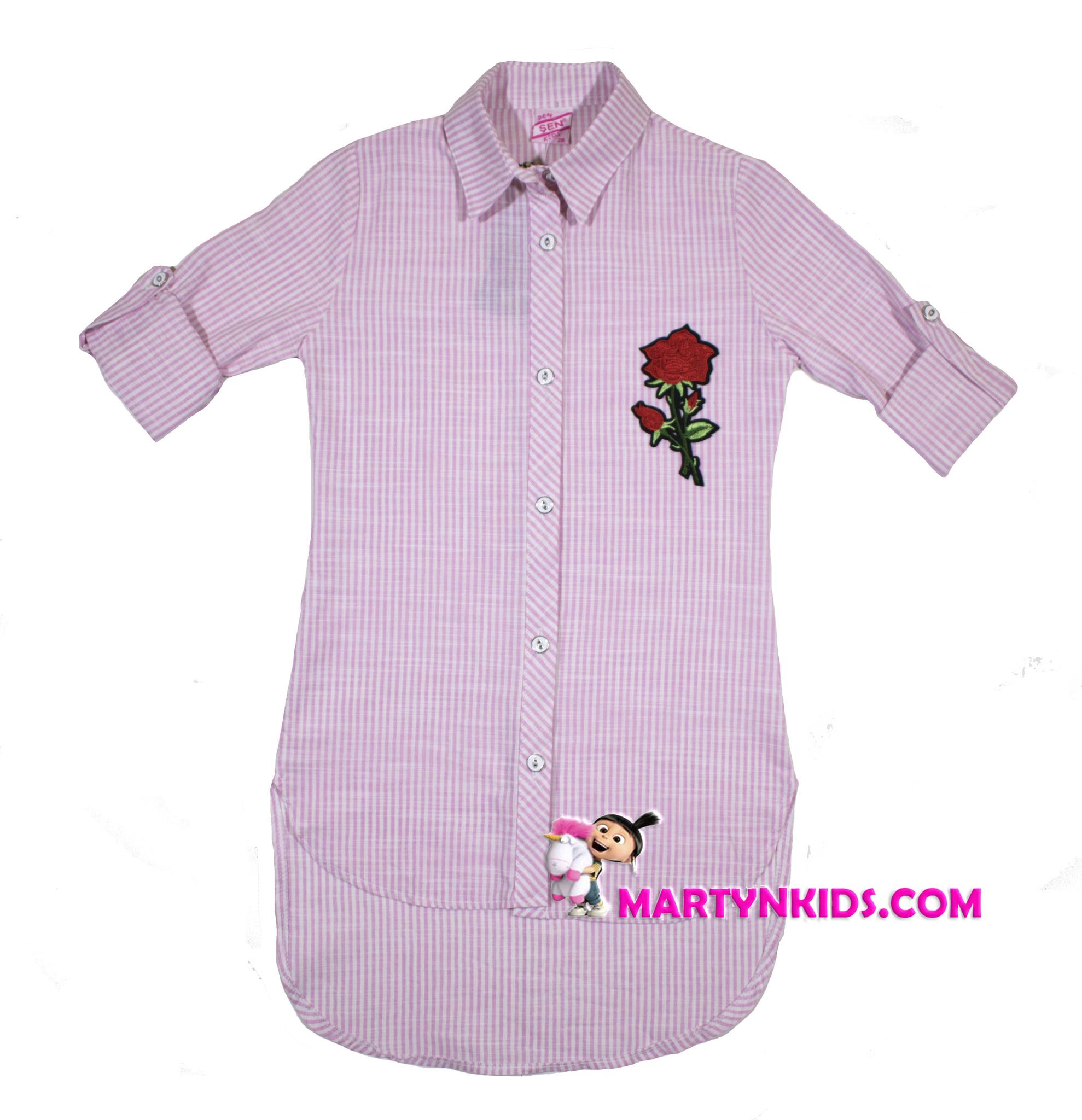 156 рубашка роза