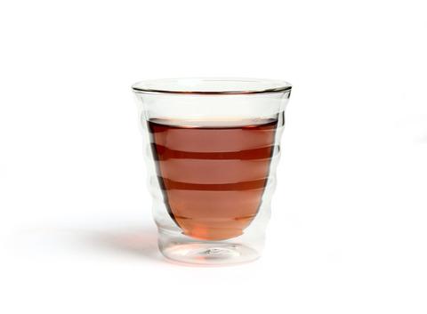 Необжигающая чашка из жаропрочного стекла 180 мл