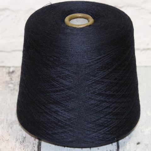 Меринос с шелком (30%) BOTTO POALA / SAVILE 2/60 синий нави
