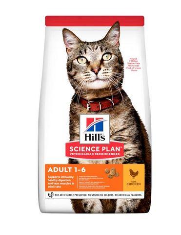 Hill's сухой корм для кошек (курица) 300г