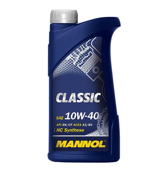 Mannol Classic 10W-40  - Полусинтетическое моторное масло