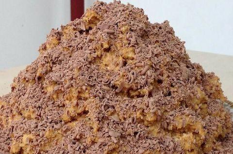 Торт Муравейник без глютена