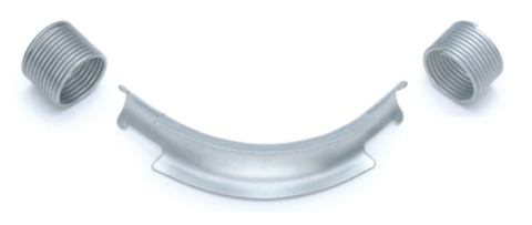 Фиксатор поворота Rehau Rautitan 32 мм. 90° отвод направляющий с кольцами (арт. 11386411002)