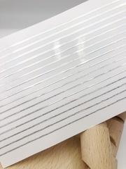 Дизайн полосочки серебро лазерное
