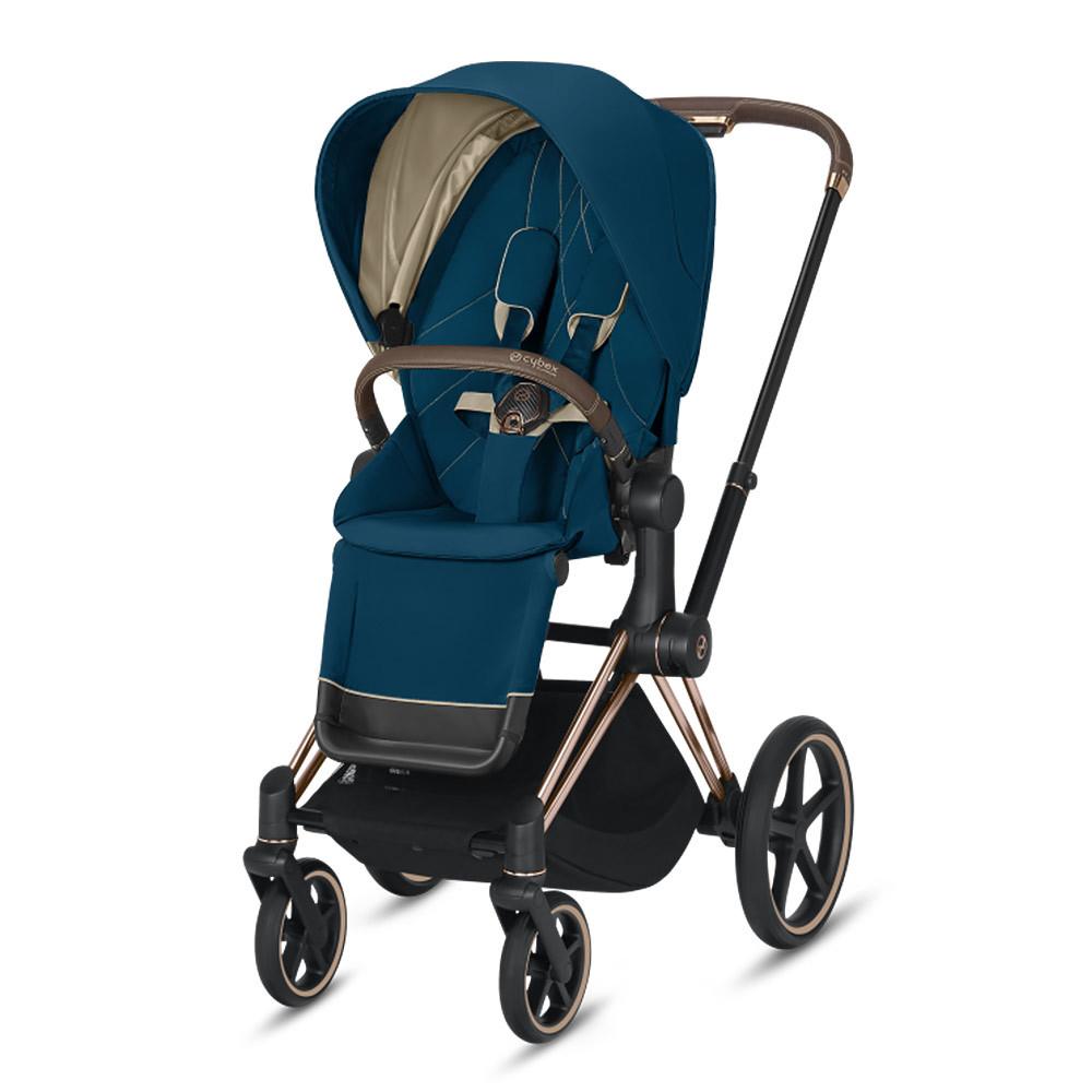 Прогулочная коляска Cybex Priam III 2020 Прогулочная коляска Cybex Priam III Mountain Blue Rosegold cybex-priam-III-mountain-blue-rosegold-2020.jpg
