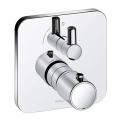 Термостат для душа встраиваемый на 1 потребителя Kludi E2 498350575 фото