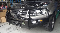 Бампер Delux Black Commercial VW AMAROK с 2011г.в