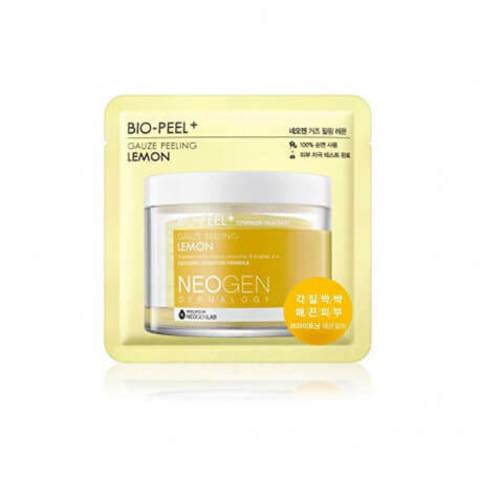Пилинг-пэд с лимоном для сияния кожи Neogen Dermalogy Bio-Peel Gauze Peeling Lemon