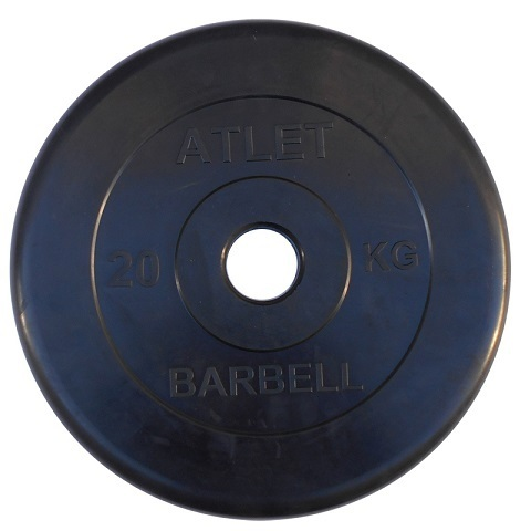 Диск Barbell Atlet 2.5 кг (26 мм)