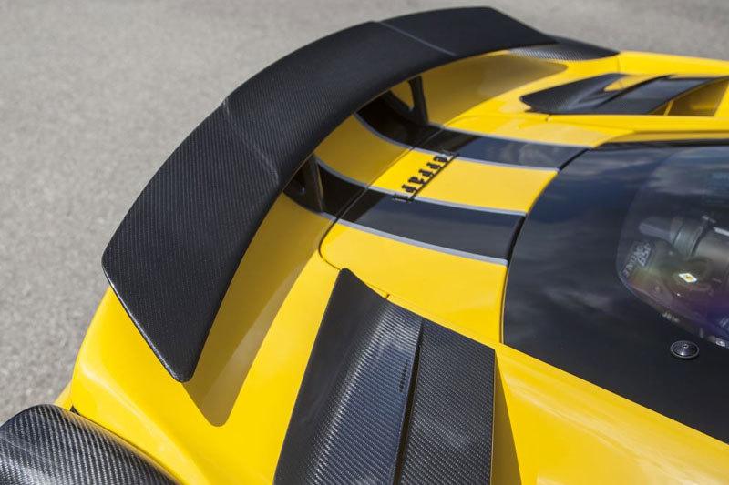 Карбоновое антикрыло для Ferrari 458 Speciale