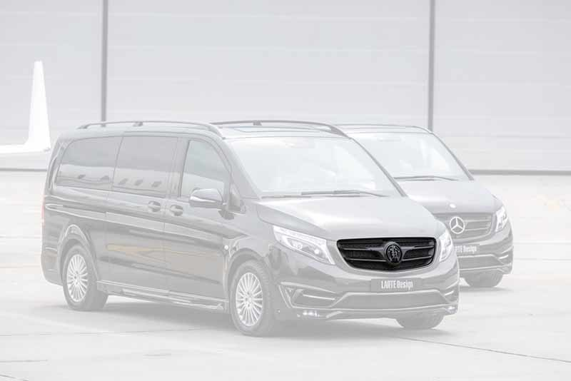 Обвес Larte Design Black Crystal для Mercedes-Benz V-class