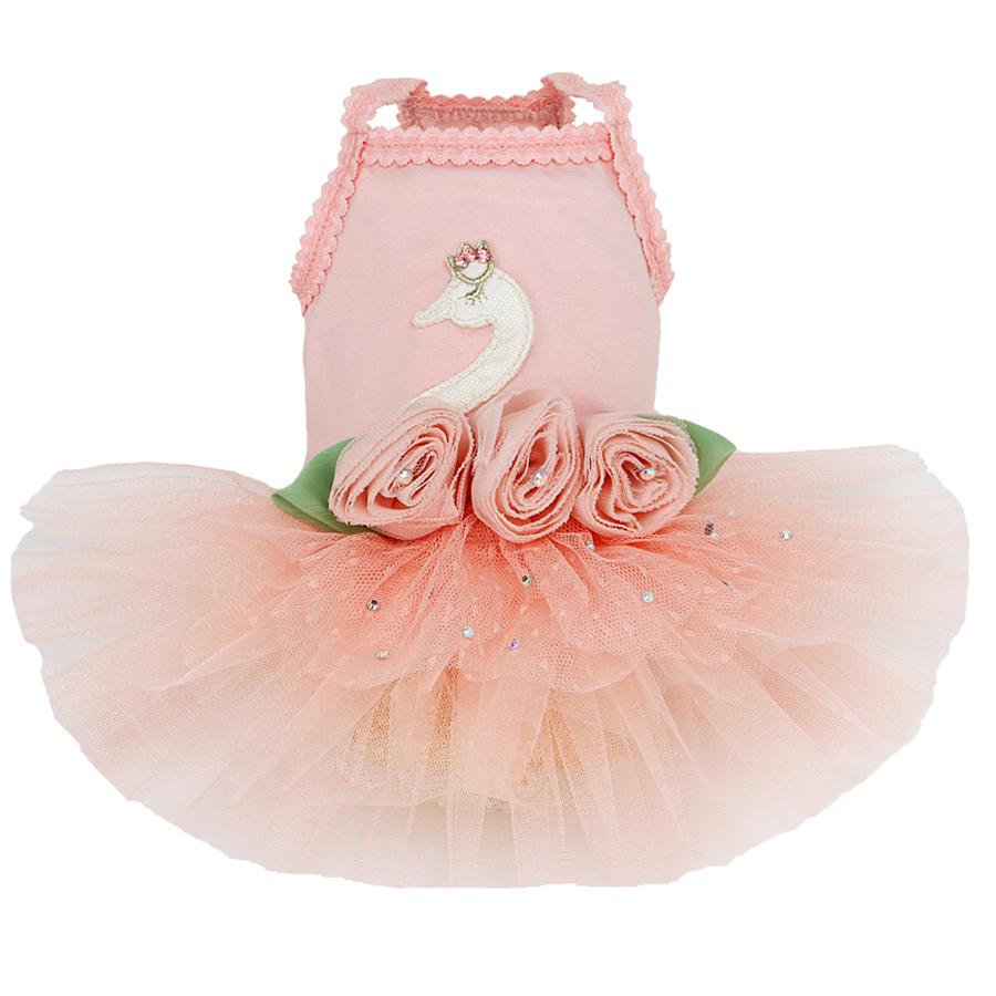 купить розовое платье для собаки