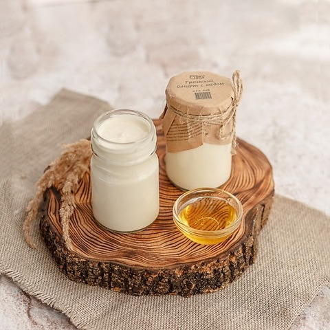 Греческий йогурт с медом 5% 170 гр