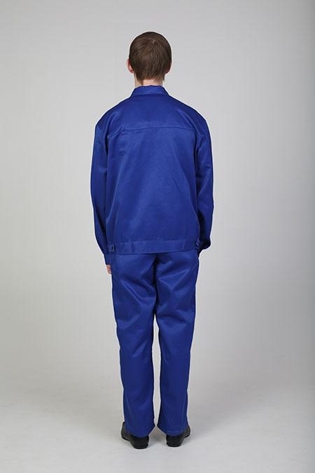 Выкройка рабочего костюма с полукомбинезоном вид сзади