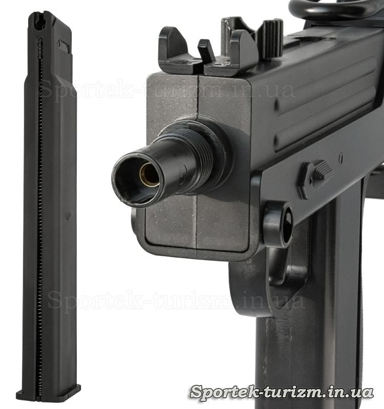 Магазин пневматического пистолета KWC Mac 11