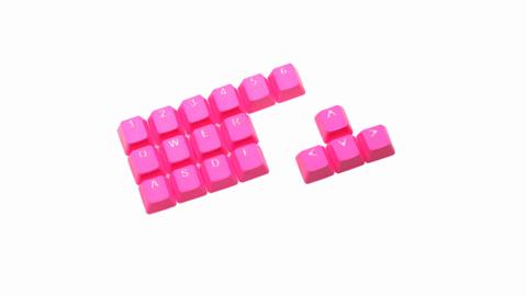 Клавиши Tai-Hao «Rubber Neon pink»