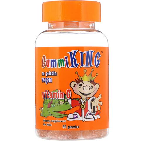 GummiKing, Витамин C для детей, 60 мармеладок