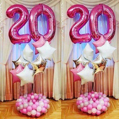 shop-shariki.ru фонтан из шаров на 20 лет