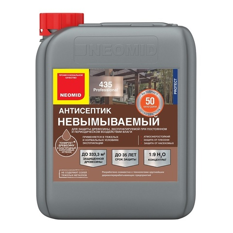 Neomid 435 декоративный антисептик