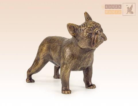 статуэтка Собака Бульдог французский