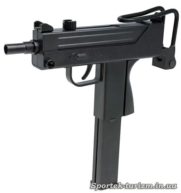 Пистолет пневматический KWC Mac 11, газобаллонный