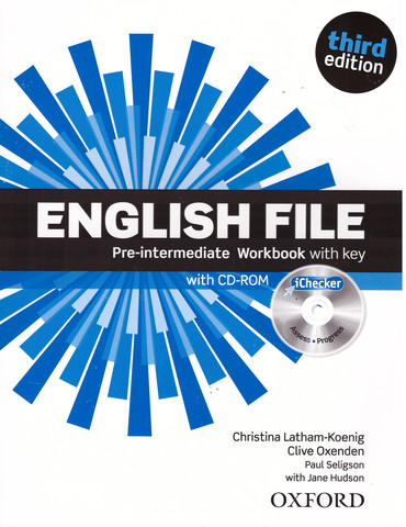 English File (3rd edition) Pre-Intermediate: Workbook with key and iChecker