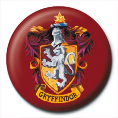 Значок Pyramid: Harry Potter (Gryffindor Crest)