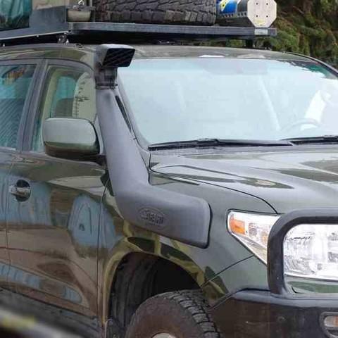 Установка шноркеля на Land Cruiser 200