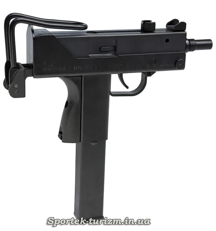 Вид справа пневматического пистолета KWC Mac 11