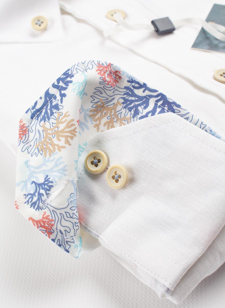 Рубашка Ledub tailored fit 0137946-910-910-130