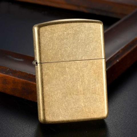 Зажигалка Zippo 28496 Armor Tumbled Brass