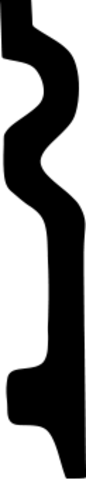 Плинтус гибкий 1.53.109