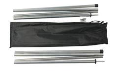 Набор алюминиевых стоек 16х240 см (2 шт) для туристической палатки Alexika Alu