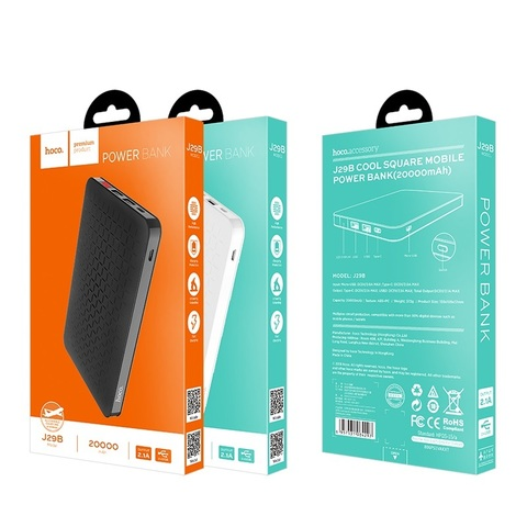 Power Bank HOCO J29B Cool square (20000mAh)