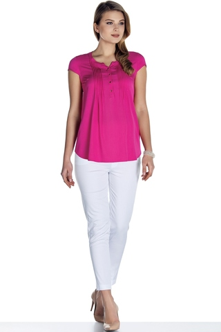 Блузка для беременных 08501 фуксия