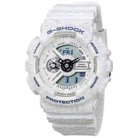 Часы Casio G-Shock White Resin  Watch GMAS110HT-7ACR