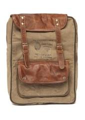 Рюкзак Secret De Maison PARFUM ( mod. M-11400 ) кожа буйвола / ткань хлопок, коричневый, ткань: винтаж