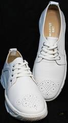 Купить белые кроссовки женские летние Derem 18-104-04 All White.
