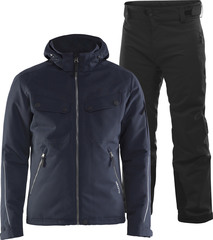 Тёплый зимний мембранный костюм CRAFT Utility Alpine Eira